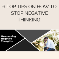 6 top tips on how to stop negative thinking
